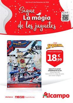 Ofertas de Spiderman  en el folleto de Alcampo en Madrid