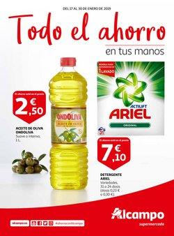 Ofertas de Aceite de oliva  en el folleto de Alcampo en Pamplona
