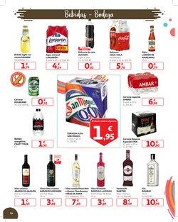 Ofertas de Cerveza especial  en el folleto de Alcampo en San Cristobal de la Laguna (Tenerife)