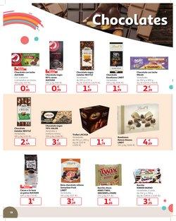Ofertas de Chocolate  en el folleto de Alcampo en San Cristobal de la Laguna (Tenerife)
