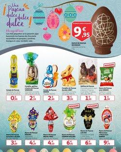 Ofertas de Pascua  en el folleto de Alcampo en Barcelona