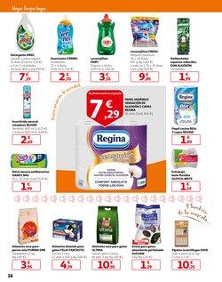 Ofertas de Papel higiénico  en el folleto de Alcampo en Castelldefels
