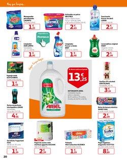 Ofertas de Detergente lavavajillas  en el folleto de Alcampo en Mijas