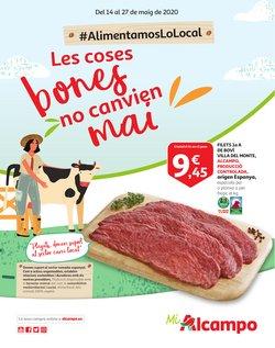 Ofertas de Hiper-Supermercados en el catálogo de Alcampo en Corbera de Llobregat ( 2 días más )