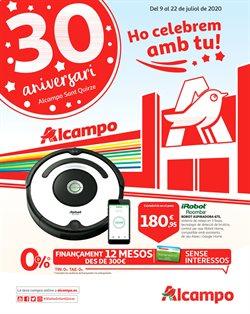 Catálogo Alcampo en Santa Coloma de Gramenet ( Publicado ayer )