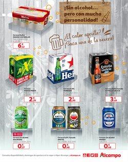 Ofertas de Cerveza sin alcohol en Alcampo