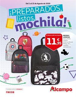 Ofertas de mochilas escolares en el cat谩logo de Alcampo ( 6 d铆as m谩s)