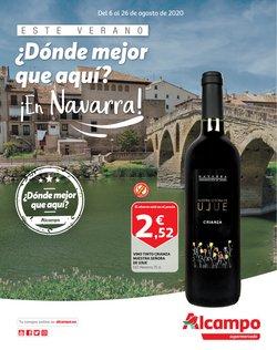 Ofertas de Hiper-Supermercados en el catálogo de Alcampo en Alsasua ( 14 días más )