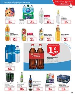Ofertas de Coca-Cola en Alcampo