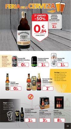 Ofertas de Cerveza especial en Alcampo