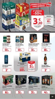 Ofertas de Cerveza de importación en Alcampo