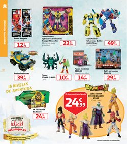 Ofertas de Juegos Transformers en Alcampo