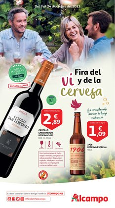 Ofertas de Hiper-Supermercados en el catálogo de Alcampo ( Caduca hoy)