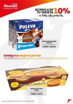 Ofertas de Puleva en el catálogo de Alcampo ( Publicado ayer)