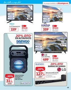 Ofertas de Daewoo en el catálogo de Alcampo ( Caduca hoy)