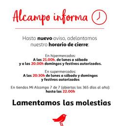 Cupón Alcampo en Esplugues de Llobregat ( 7 días más )
