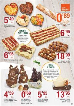 Ofertas de Pascua  en el folleto de BonpreuEsclat en Barcelona
