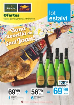 Ofertas de Hiper-Supermercados  en el folleto de BonpreuEsclat en Vilafranca del Penedes