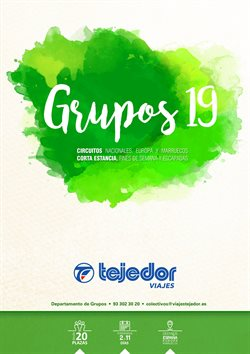 Ofertas de Viajes Tejedor  en el folleto de Girona