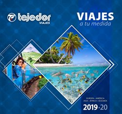 Ofertas de Viajes Tejedor  en el folleto de Badalona