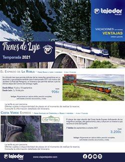 Ofertas de Viajes Tejedor en el catálogo de Viajes Tejedor ( Más de un mes)