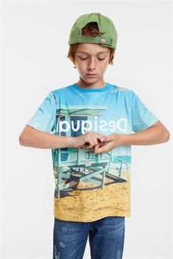 Ofertas de Camiseta niño en Desigual
