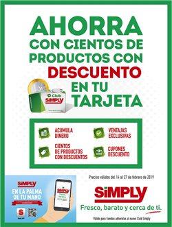 Ofertas de Simply  en el folleto de Daganzo de Arriba