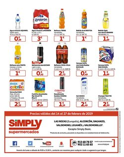 Ofertas de Desodorante en spray  en el folleto de Simply en Madrid