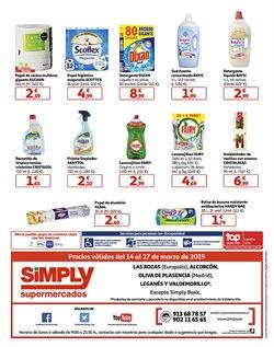 Ofertas de Sanytol  en el folleto de Simply en Madrid