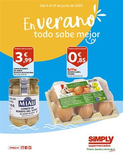 Ofertas de Simply  en el folleto de Bilbao