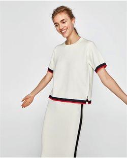 Ofertas de Camiseta mujer  en el folleto de ZARA en Madrid
