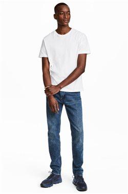 Ofertas de Camiseta hombre  en el folleto de H&M en Pamplona