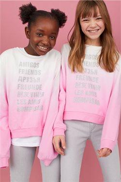 Ofertas de Camiseta niña en H&M