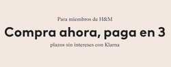 Cupón H&M en Valencia ( 7 días más )