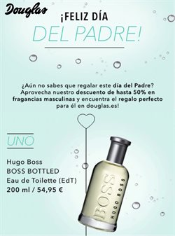 Ofertas de Perfumerías y belleza  en el folleto de Douglas en Zamora