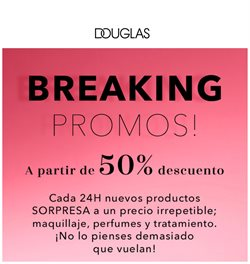 Ofertas de Perfumerías y Belleza en el catálogo de Douglas en Zamora ( Caduca hoy )