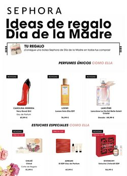 Catálogo Sephora ( 16 días más)