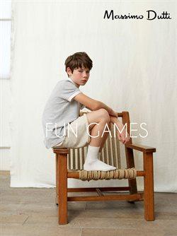 Ofertas de Moda infantil  en el folleto de Massimo Dutti en Sevilla