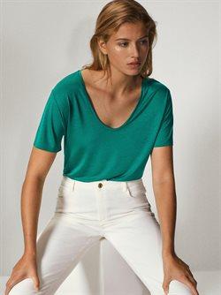 Ofertas de Camiseta mujer en Massimo Dutti