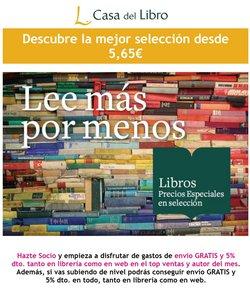 Ofertas de Libros y Papelerías en el catálogo de Casa del Libro ( Caduca mañana)