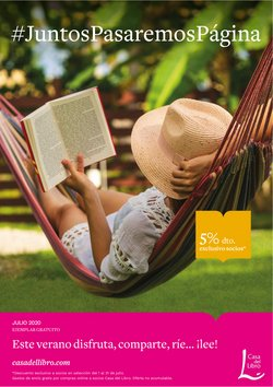Ofertas de Libros y Papelerías en el catálogo de Casa del Libro en Badalona ( 19 días más )