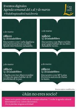 Catálogo Casa del Libro ( 3 días más)