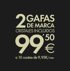 Cupón Opticalia en Medina del Campo ( Más de un mes )