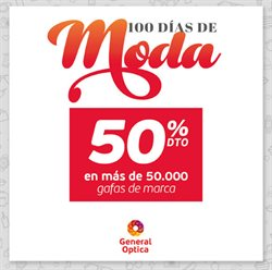 Ofertas de Salud y ópticas  en el folleto de General Óptica en Madrid