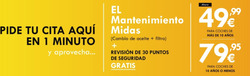 Ofertas de Midas  en el folleto de Madrid
