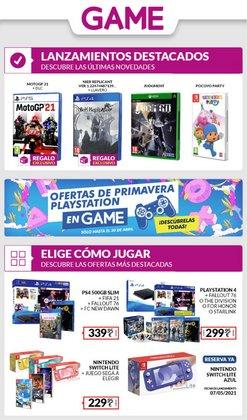 Catálogo Game ( 3 días más)