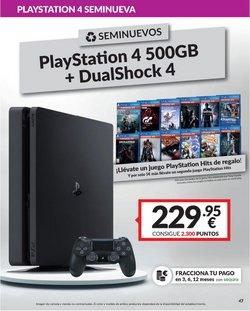 Ofertas de Sony en el catálogo de Game ( Más de un mes)