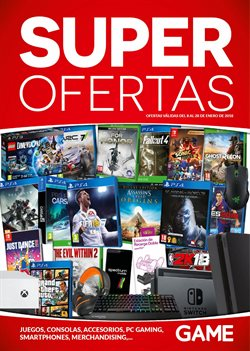Ofertas de CC Carrefour Alameda  en el folleto de Game en Málaga