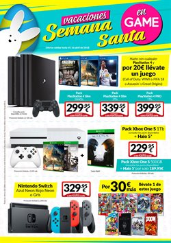 Ofertas de Juegos PS4  en el folleto de Game en Dos Hermanas