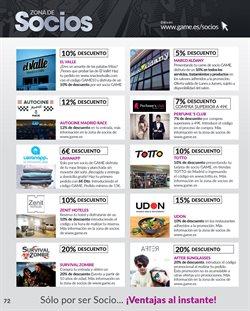 Ofertas de Hoteles  en el folleto de Game en Madrid